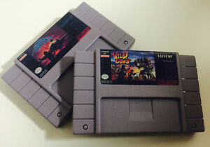 Aero Fighter + Wild Guns - SNES REPRODUCTION Gatineau Ottawa / Gatineau Area image 1