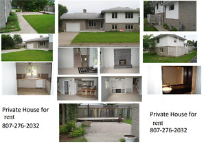 great home for rent Fort Frances