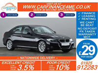 2010 BMW 318 2.0 I SE GOOD / BAD CREDIT CAR FINANCE FROM 29 P/WK