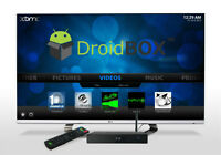 Droidbox M5  Android TV  quad  core units with dual Band WIFI