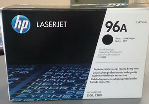 HP 96A Black Toner Cartridge for LaserJet 2100, 2200 Printers