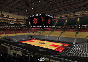 RAPTORS vs CELTICS, Fri Oct 19 - Sec 106, Row 26, Seats 19 & 20