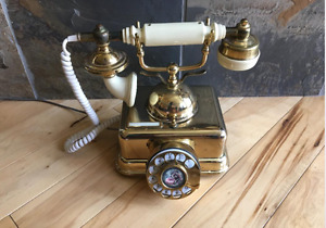 VINTAGE FRENCH CRADLE TELEPHONE PHONE BELL