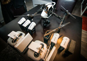 DJI INSPIRE -CAM X5- 2 MANETTES-2 EXTENDER-5 BATERIES +++