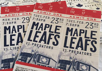 Leafs First-Row Reds 2-Game Pack