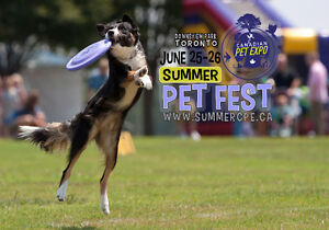 SUMMER PET FEST - Exhibitor Space Added