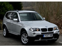 BMW X3 2.0d 2007MY SE SILVER 4WD