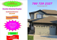 Double Attached Duplex with finished Basement Full Upgrades SW