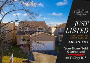 Sought After Detached Home in the Heart of Ajax