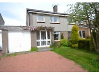 Three bedroom family home in popular residential area of Penicuik.