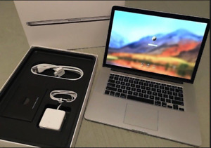 2014 High Spec 15 MacBook Pro RETINA i7 2.6Gh 16GB QUAD Software