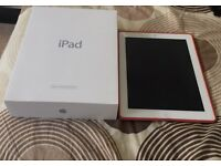 Apple iPad 4 silver with cellular 3G on 02 network