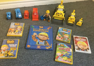 Bob the Builder Toys and DVD's