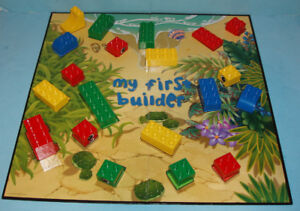 """LEGO  """"MY FIRST BUILDER"""" , GAMES FOR LITTLE CREATORS"""