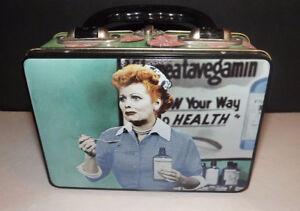 I LOVE LUCY LUNCH BOX COLLECTABLE