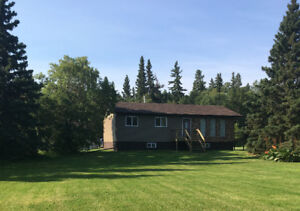 Beautiful acreage on 23 acres at Delaronde Lake Sask