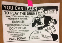 Drum Lessons (located in Capreol)