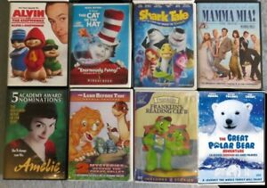 *Lot of Kids FRENCH Movies & Music CD's for sale