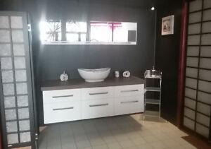 Vanités - armoires de cuisine - Plomberie- Liquidation total