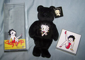 Betty Boop Bears The Kiss.  in case