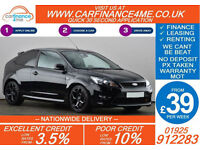 2011 FORD FOCUS 2.5 ST-3 GOOD BAD CREDIT CAR FINANCE FROM 39 P/WK