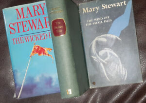 3 Mary Stewart Hardcover First Editions