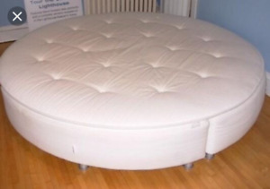 7' Round Bed - Ikea Sultan Sandane (discontinued) $400