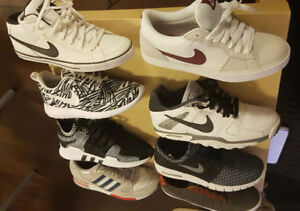 Nike, Adidas, K-Swiss Mens Shoes (size 8.5 to 9)
