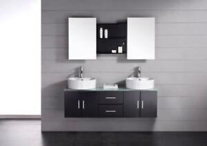 Contemporary Bathroom Vanity & Cabinet Emprosario N622M 980.00