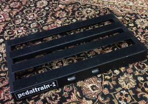 Pedaltrain 1 Pedal Board with Hardshell Flight Case