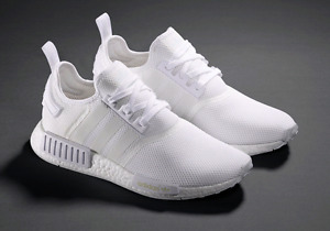 Nmd triple white Ds