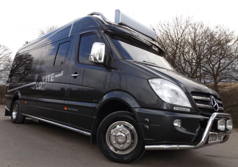 Mercedes benz sprinter 515 cdi motorhome camper van travel for Mercedes benz camper vans