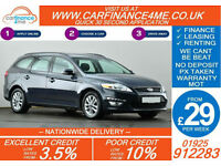 2012 FORD MONDEO 2.0 TDCI 140 ZETEC GOOD / BAD CREDIT CAR FINANCE FROM 29 P/WK