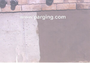 PARGING and Foundation repair before the winter Kitchener / Waterloo Kitchener Area image 1