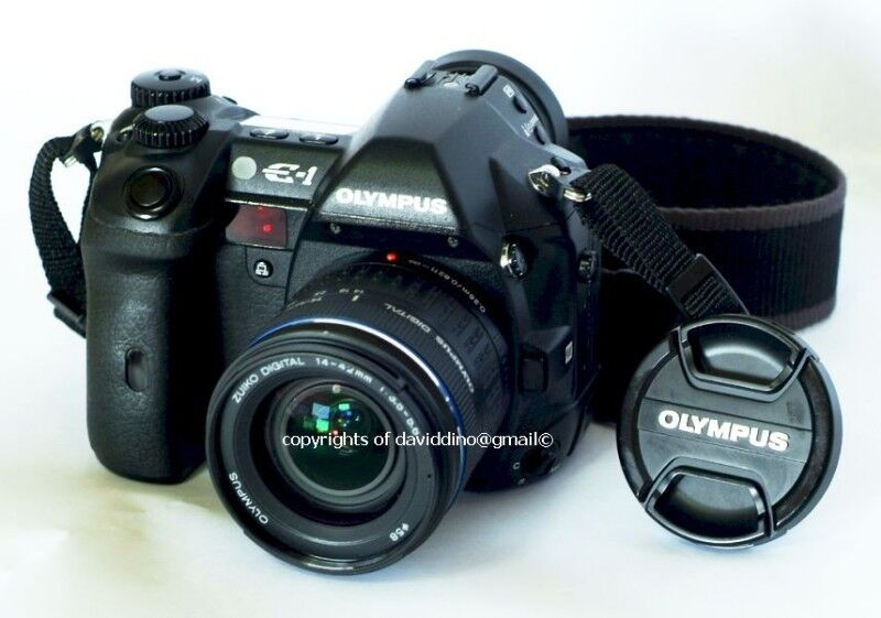 ~~~ExCeLLenT  condition OLymPus E1 DSLR Camera with  Lens   $788~~~