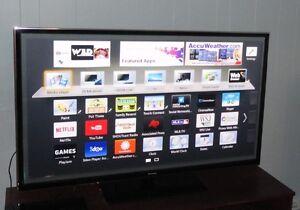"Panasonic ST60 3D Plasma Smart TV 60"" with warrantee (14 months)"
