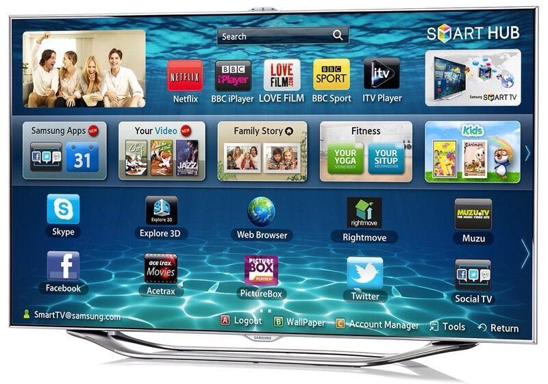 samsung 3d tv. samsung 55 inch series 8 3d smart led tv camera built in 3d tv