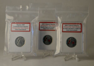 Set of 3 2009 Gem Uncirculated Moment 1 Men's Hockey coins