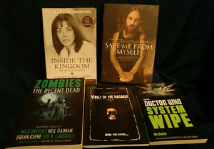 Books for sale. Biography / horror/ sci-fi
