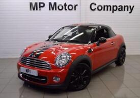 2013 63 MINI COUPE 1.6 COOPER 2D 120 BHP 2 DR 6 SP COUPE,45,000M FBMWSH 1 OWNER,