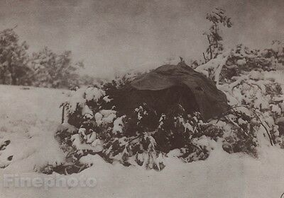 1900/72 Photo Gravure NATIVE AMERICAN INDIAN Walapai Winter EDWARD CURTIS 11x14