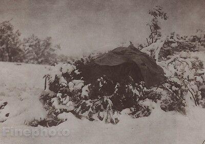 1900/72 Photo Gravure NATIVE AMERICAN INDIAN Walapai Winter EDWARD CURTIS 11x14