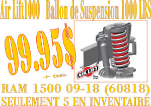 SPECIAL-AIRLIFT BALLONS DE SUSPENSION à air RAM 1500 09-18 60818