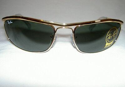 RAY BAN Sunglasses PREDATOR OLYMPIAN  Gold Frame  RB 3119 001  G-15  Lenses (Gold Framed Sunglasses)
