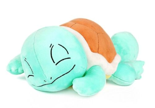 "Pokemon XY 12"" Sleeping Squirtle Rag Stuff Plush Cozy Doll Soft Toy Gift Cute"