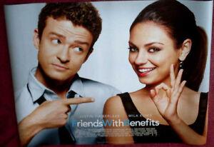 Cinema-Poster-FRIENDS-WITH-BENEFITS-2011-Quad-Mila-Kunis-Justin-Timberlake