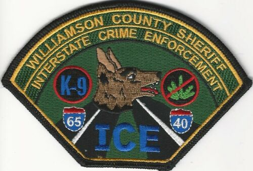 Williamson County Sheriff k9 k-9 Narcotics DEA State Tennessee TN