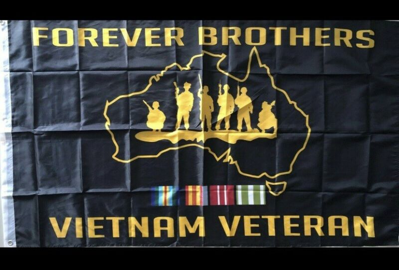 VIETNAM VETERAN FLAG...New