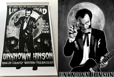 NEW UNKOWN HINSON Poster Bundle FULL MOON LIVE UNDEAD SIGNED