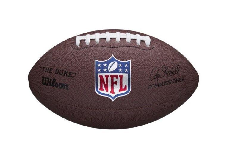 "NFL Mini Replica ""The Duke"" Game Football by Wilson"